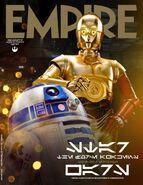 TFA C-3PO & R2- D2 Empire Cover