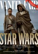TLJ Luke & Rey Vanity Fair Cover
