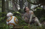 Rey & BB8 Takodana