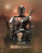 The Mandalorian Rolarafal Poster