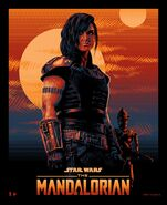 The Mandalorian Tracie Ching Poster