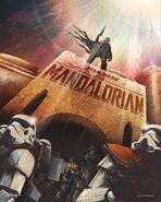 The Mandalorian 17th and Oak Poster