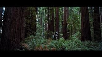Star Wars Episode VI-Speeder chase