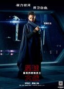 The Last Jedi Chinese Leia Poster
