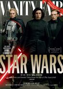 TLJ Phasma Ren & Hux Vanity Fair Cover