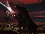 Duel at the top of the Malachor Sith temple