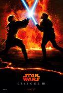 ROTS Anakin vs Obi-Wan Poster