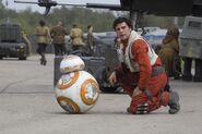 Poe & BB8 The Force Awakens