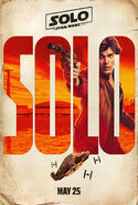 Han Solo Teaser Character Poster