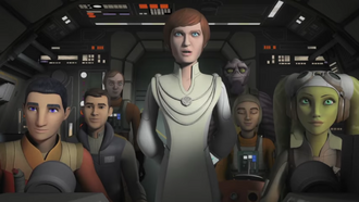 Mothma and Ghost Crew