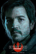 Rogue One Cassian Poster