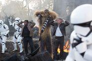 Finn Chewie Han & Stormtroopers