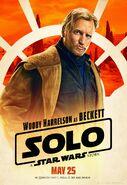Solo Beckett Poster