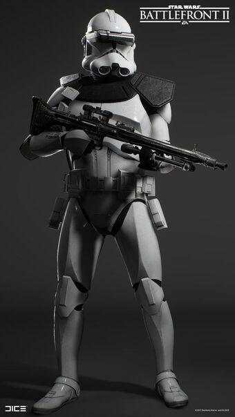 Clone sharpshooter | Star Wars Canon Wiki | Fandom