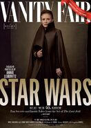 TLJ Leia Vanity Fair Cover