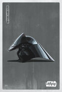 The Last Jedi Dark Helmet Poster