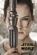 The Force Awakens Rey Poster