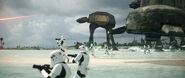 Stormtroopers on Scarif
