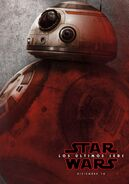 BB-8 Red TLJ Poster