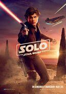 Solo UK Han Poster