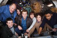 Han Solo cast picture