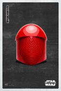 The Last Jedi Pilot Praetorian Helmet Poster