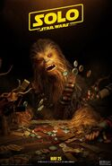 Solo Sabacc Poster Chewie