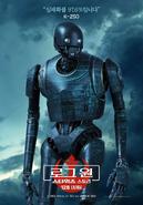 Korean K2-SO Rogue One Poster