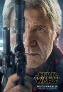 The Force Awakens Han Poster