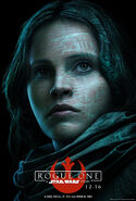Rogue One Jyn Poster