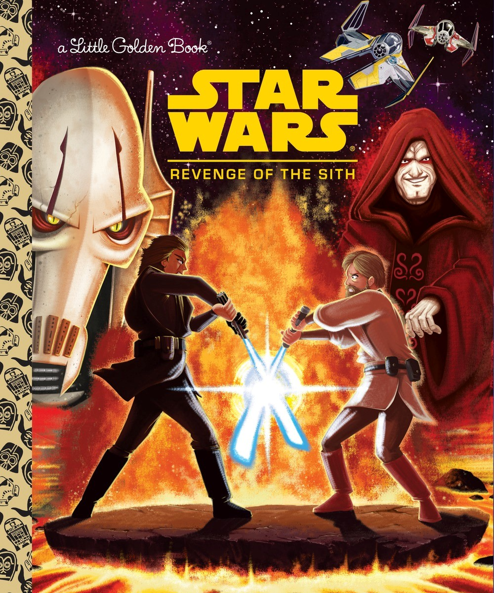 Revenge Of The Sith Golden Book Star Wars Canon Wiki Fandom