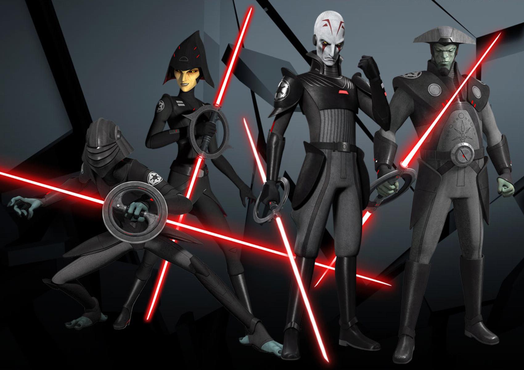 Звездные войны повстанцы картинки инквизиторов