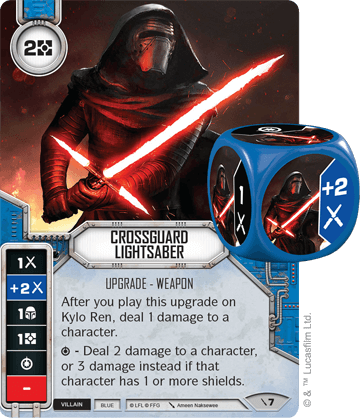 Crossguard Lightsaber | Star Wars: Destiny Card Game Wikia | FANDOM