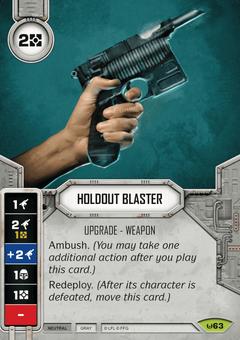 AWK 063 Holdout Blaster