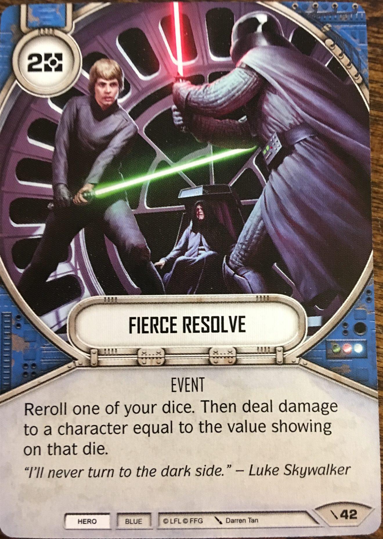fierce resolve