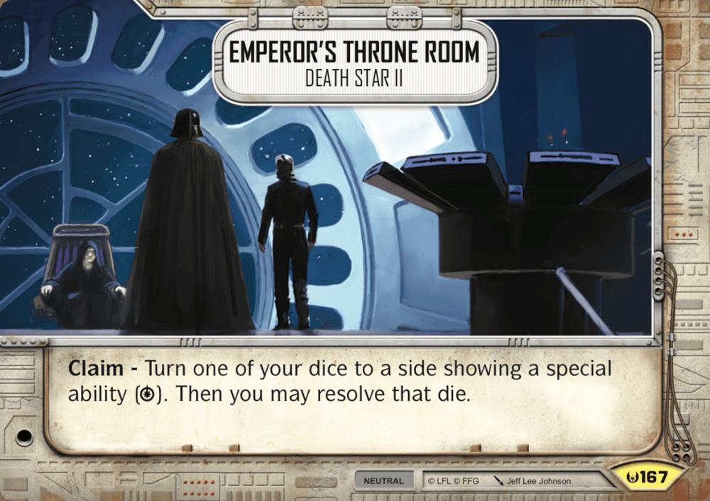 Emperor's Throne Room   Star Wars: Destiny Card Game Wikia