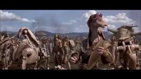 Star Wars The Phantom Menace Battle of Naboo Scene-0