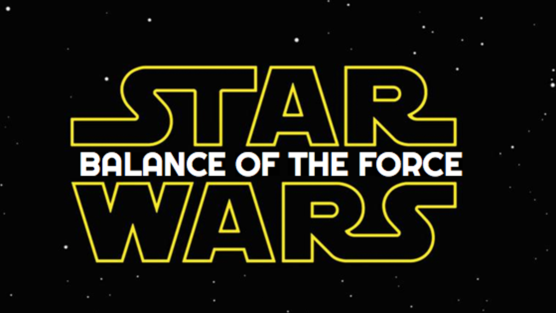 Afbeeldingsresultaat voor star wars balance of the force
