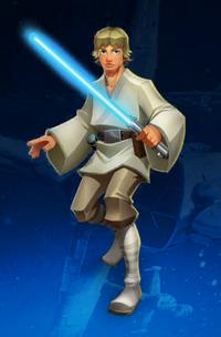 Luke Skywalker Full Body
