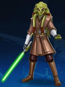 Star Wars Kit Fisto