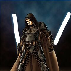 Grey Jedi Valerian, Present at Dantooine Massacre
