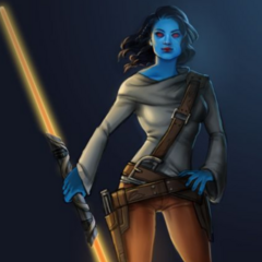 What Jainna Skywalker would have looked like, had she lived past 11 years of age.
