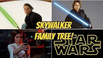 The Skywalker Family Tree (Legends)