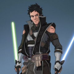 Second son of Jariah skywalker and Ania Solo: CADE SKYWALKER JUNIOR