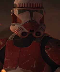 Clone Shock Trooper Mustafar
