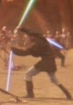 Unidentified Human Jedi 21 Geonosis Star Wars Legends