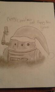 Chopper - Wesołych Świąt