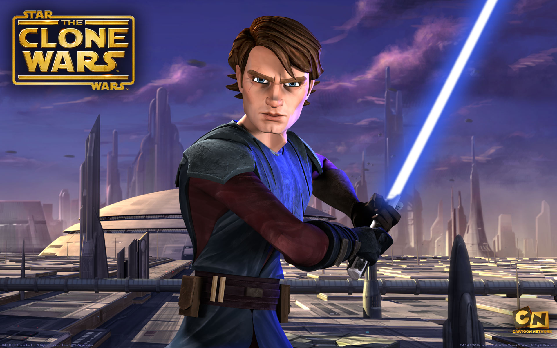 Star Wars The Clone Anakin Skywalker Wallpaper