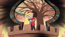 S2E30 Star Butterfly and Marco Diaz hugging