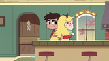 S2E40 Marco looks at Ruberiot while hugging Star